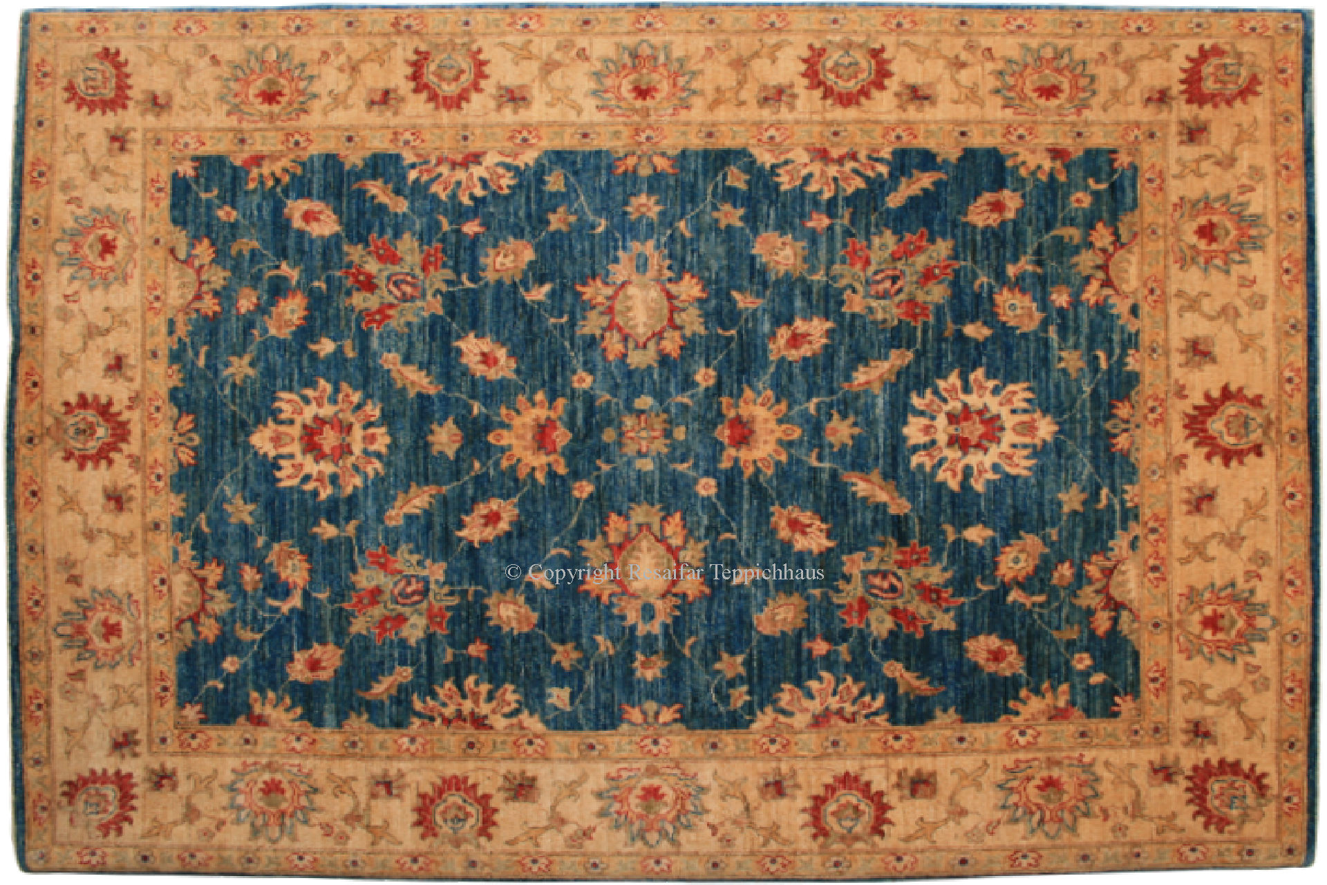 Ziegler teppich blau - Orientteppich ebay kleinanzeigen ...